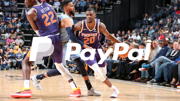 Suns vs. Grizzlies PayPal Highlights 2018-19