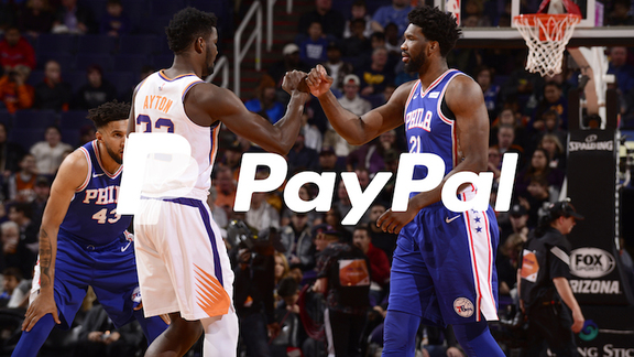 Suns vs. Sixers PayPal Highlights 2018-19