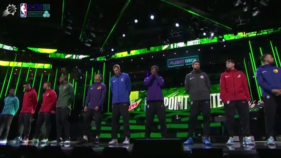 MTN Dew 3-Point Contest Recap