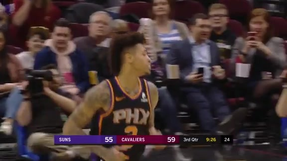 Kelly Turns Defense into Offense at Cavs