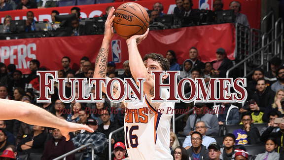 Fulton Homes Three-Point Zone 2018-19: Up to 573