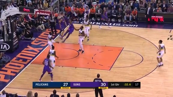 Holmes Two-Handed Jam vs Pelicans
