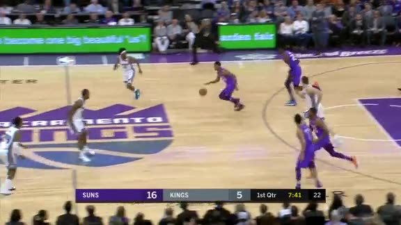Booker Drains Jumper from Way Downtown