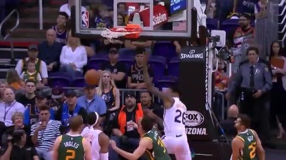 4/03/19 Ray Spalding vs Jazz Highlights