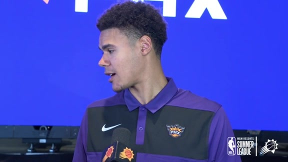 Summer League 2019 | Cam Johnson Media Availability