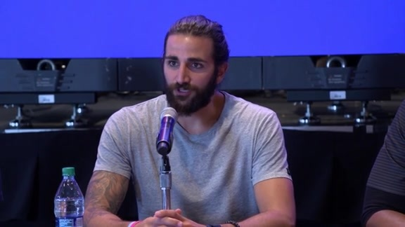 Ricky Rubio Introductory Press Conference