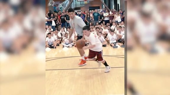 Devin Booker Basketball Camp