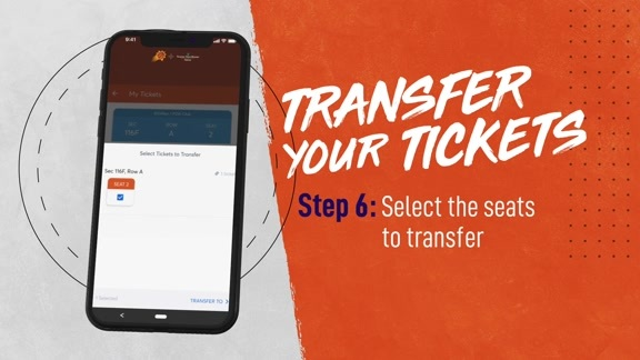 Suns Mobile: Transfer Tickets to a Friend