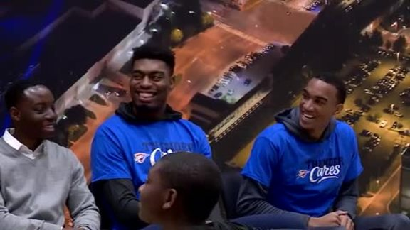 Thunder Hosts Mentoring Session With OKC Boys Institute