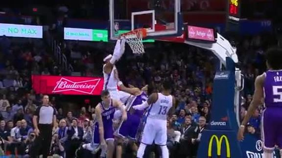 Highlights: Thunder vs. Kings - MLK Day