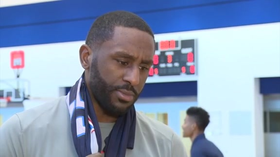 1-on-1: Patrick Patterson - 1/17