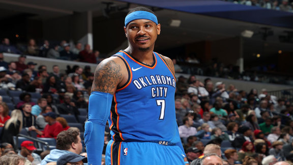 Carmelo Anthony Highlights at Grizzlies - 2/14