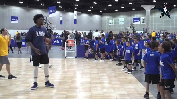 Rashawn Thomas Jr. NBA Clinic