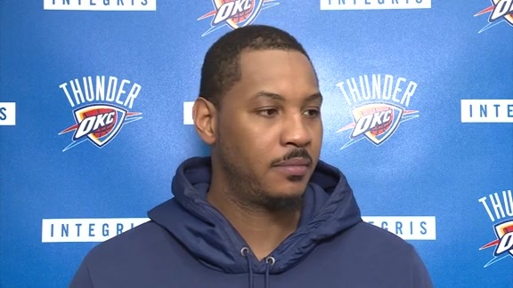 Thunder Talk: Carmelo Anthony - 2/21