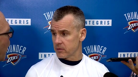 Thunder Talk: Coach Donovan - 3/9