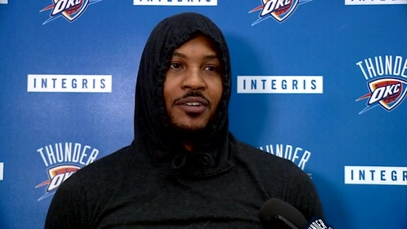 Thunder Talk: Carmelo Anthony - 3/9