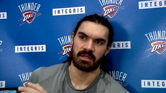 Thunder Talk: Steven Adams - 3/9