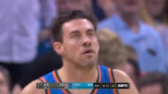 Highlights: Nick Collison vs. Spurs