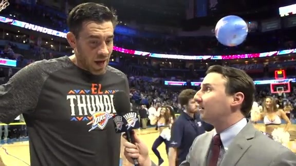 Walkoff Interview: Nick Collison - 3/10