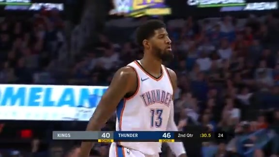 Paul George Highlights vs. Kings - 3/12