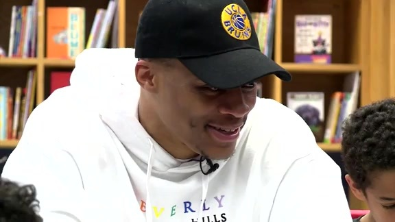 Russ Gives Back Through Reading Room