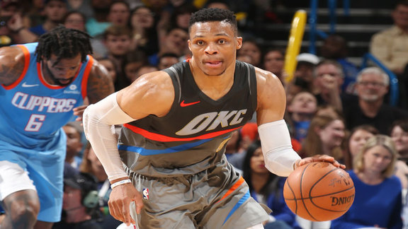 Russell Westbrook Highlights vs. Clippers - 3/16