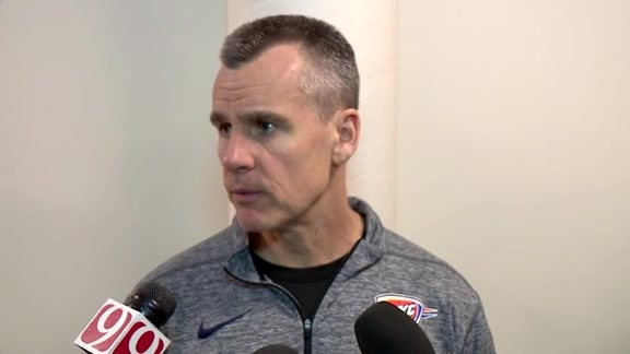 Thunder Talk: Coach Donovan - 3/19