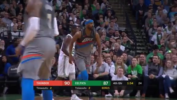 Highlights: Thunder at Celtics - 3/20