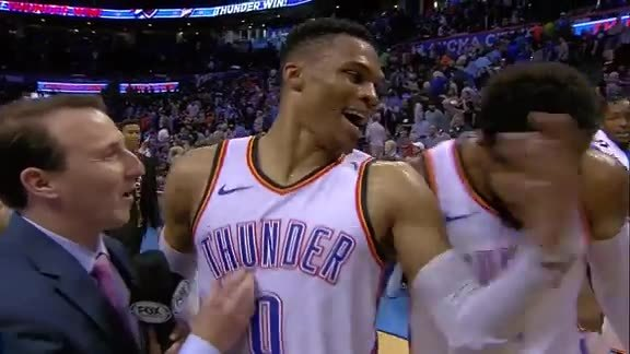 Walkoff Interview: Russell Westbrook - 3/23