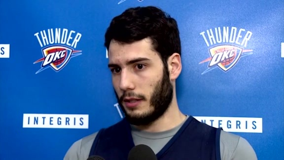 Thunder Talk: Alex Abrines - 3/24