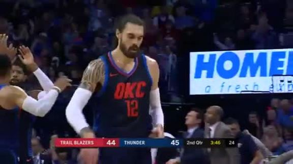 Highlights: Thunder vs. Trail Blazers - 3/25