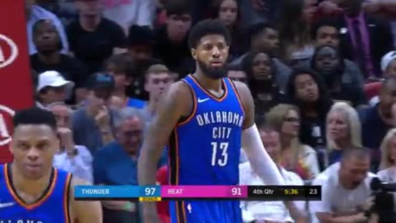 Highlights: Thunder at Heat - 4/9