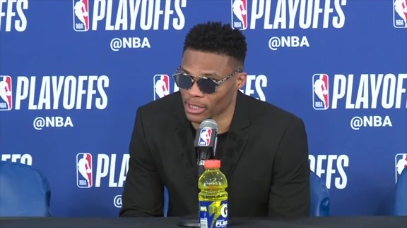 At the Podium: Game 5 vs. Jazz