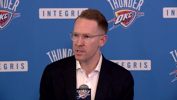 Presti Reflects on Season