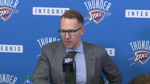 Presti, Dawkins Address Media Following Draft