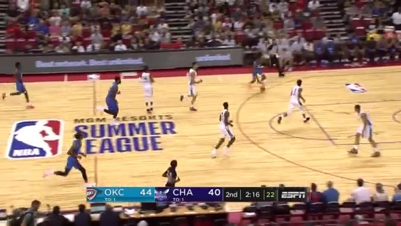 Summer League Highlights: Thunder vs. Hornets - 7/6/2018