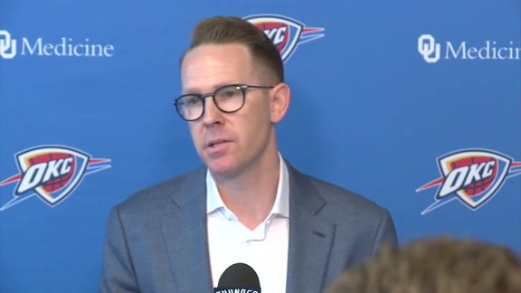 Presti Addresses Media
