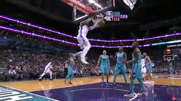 Highlights: Thunder at Hornets - 11/1/18
