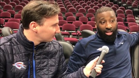 1-on-1: Raymond Felton - 11/7