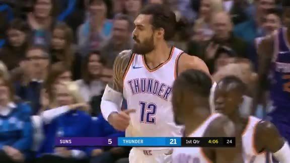 Highlights: Thunder vs. Suns - 11/12/18