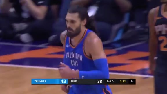 Highlights: Thunder at Suns - 11/17/18