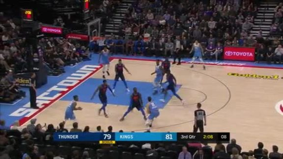 Highlights: Thunder at Kings - 11/19/18