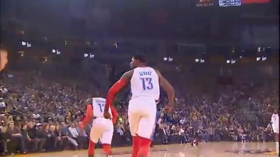 Highlights: Thunder at Warriors - 11/21/18
