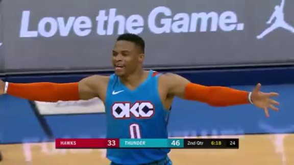 Highlights: Thunder vs. Hawks - 11/30/18