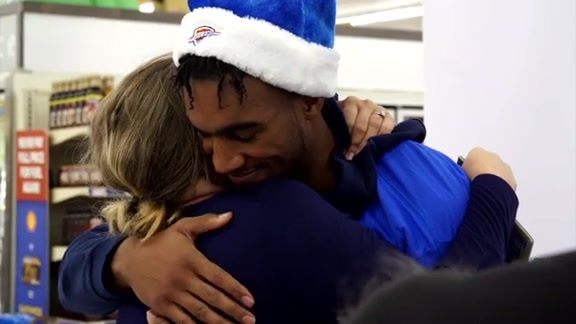 Terrance Ferguson Helps Out Family of 10