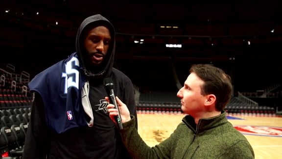 1-on-1: Patrick Patterson - 12/3