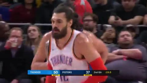 Highlights: Thunder at Pistons - 12/3/18
