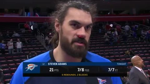 Walkoff Interview: Steven Adams - 12/3