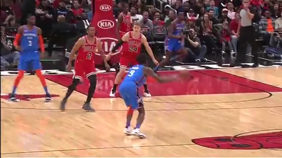 Highlights: Thunder at Bulls - 12/7