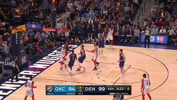 Highlights: Thunder at Nuggets - 12/14